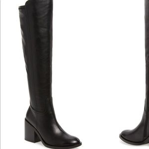 Jeffrey Campbell Woodvale knee high boots